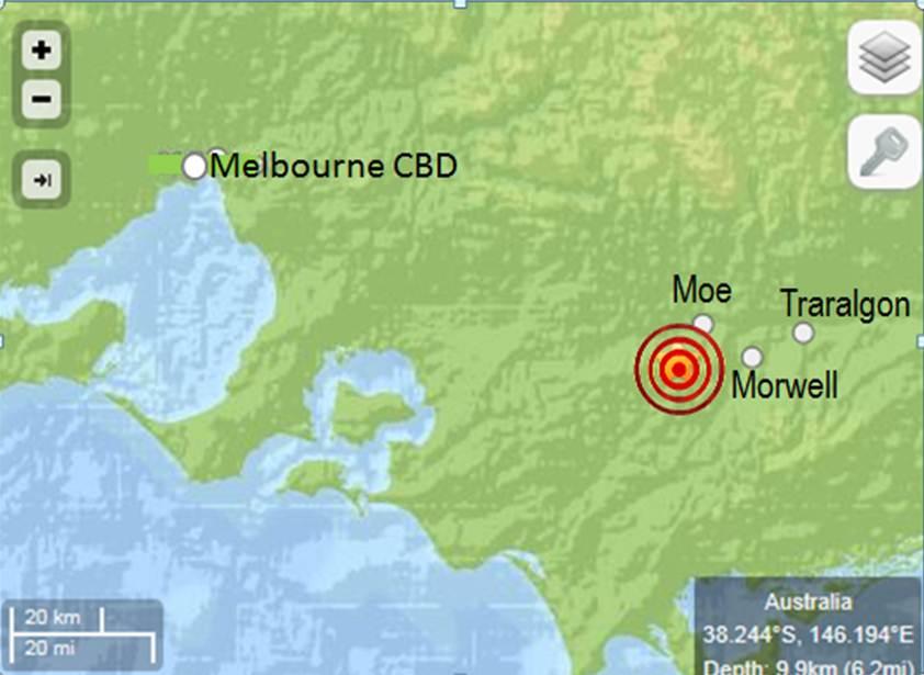 Melbourne Earthquake 19 June 2012 – Prof. Allan Manning's Blog
