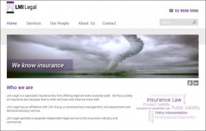 LMI Legal home page