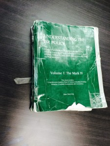 Is this the most battered and well used version of the ISR Book?