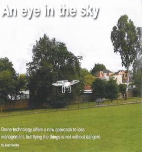 Drone in InsuranceNews