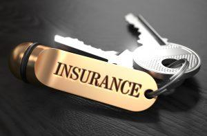 Insurance written on Golden Keyring.