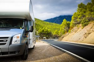 Be careful when driving your rented motor home!