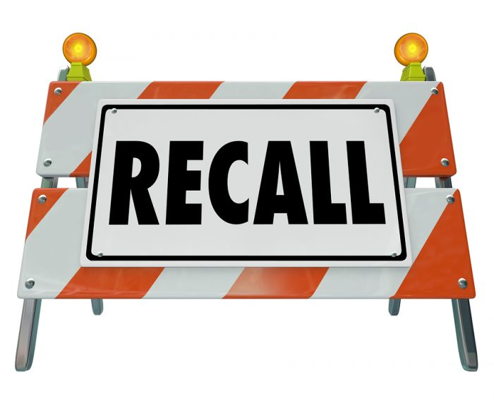 Product Recalls Australia – 30 April 2019