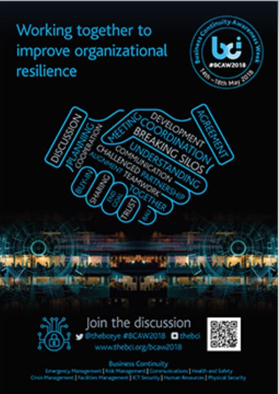 Business Continuity Awareness Week 14 – 18 May
