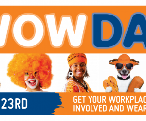 Wear Orange Wednesday – WOW Day – Wednesday 23rd May 2018
