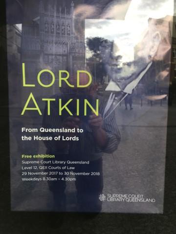 Lord Atkin Exhibition – Supreme Court of Queensland