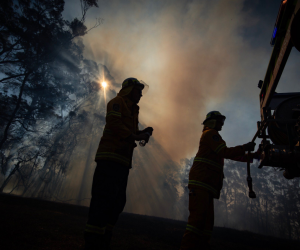 Bush fire warnings for NSW and QLD