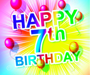 Happy 7th Birthday to AllanManning.com!