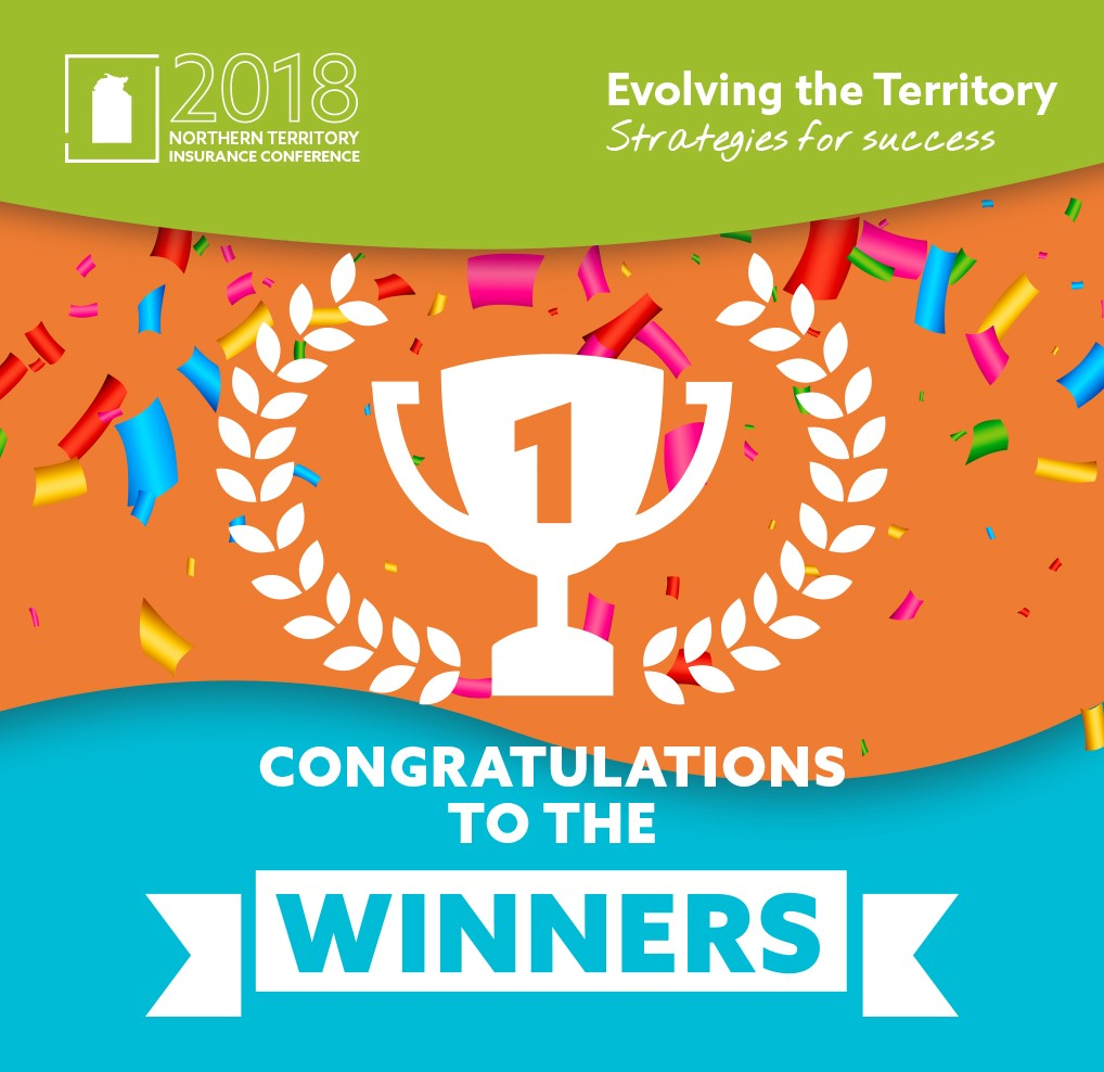 Congratulations to the 2018 Northern Territory Insurance Conference Winners