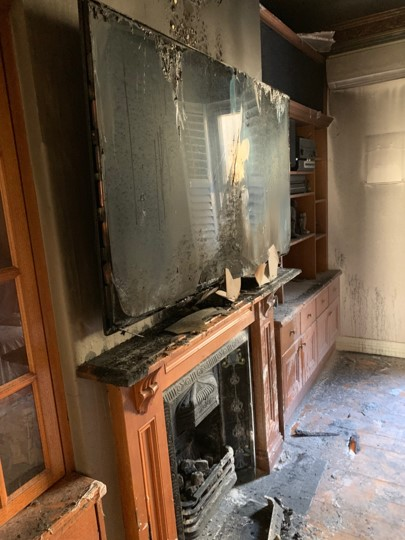 Lessons learned by a fire in my home Christmas 2018