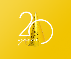 20 years, 20 services!