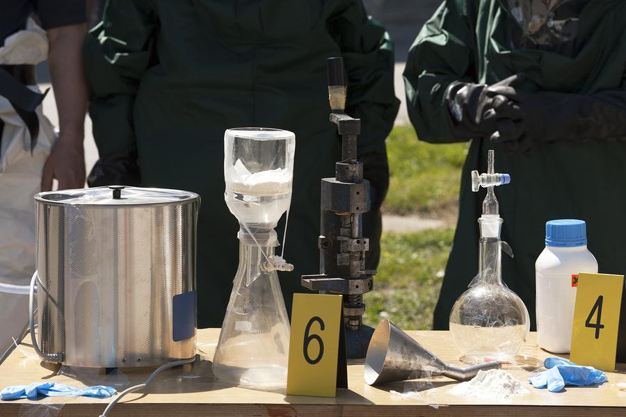 Methylamphetamine use drives more illegal Meth labs