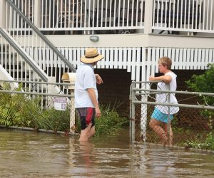 The floods in Townsville should put an end to any talk of a mutual