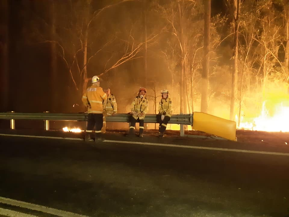 The number of homes destroyed in NSW by bush fires is terrible