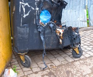What can you do to prevent garbage fires?